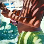 Boy with Ukulele | Aloha Art