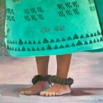 Dancer Feet in Turquoise