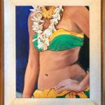 Dancer with Plumeria Lei | Hawaii Art