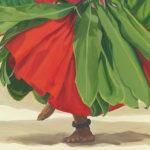 Dancers Feet in Red   Hawaiian Art