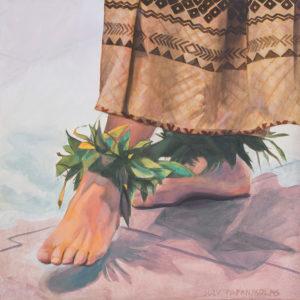 Dancers Feet in Tapa | Aloha Art