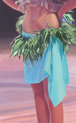Dancers Midriff in Turquoise | Aloha Artist