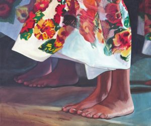 Hula Feet in Breeze | Aloha Art
