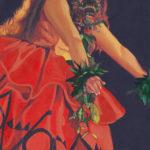 Hula Wahine in Red 1 | Aloha Art