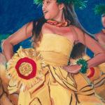 Kahiko in Yellow   Aloha Art