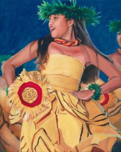 Kahiko in Yellow | Aloha Art