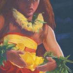 Kahiko with Yellow Lehua | Aloha Art