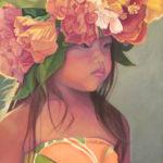 Keiki Dancer with Hibiscus Haku   Aloha Art