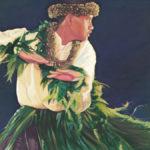 Male Dancer with Ti Skirt   Aloha Art