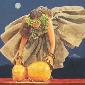 Moon Dancer With Ipu Heke   Aloha Art