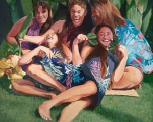 Wahine Laughing | Hawaii Art