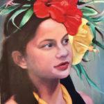 Wahine with Red Hibiscus | Aloha Artist