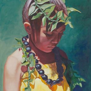 Young Dancer Looking Down | Aloha Artist
